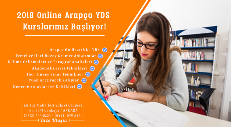 Online YDS Center – Arapça YDS