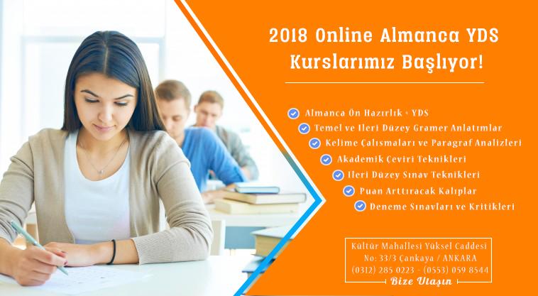 Online YDS Center – Almanca YDS Kursu